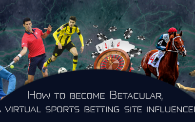 How to become Betacular, a virtual sports betting site influencer